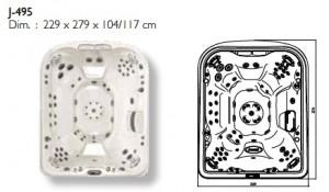 dimensions-J-495
